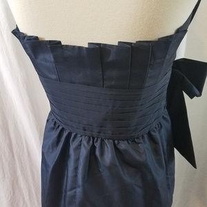 Laundry By Shelli Segal Dresses - Laundry by Shelli Segal Navy Blue Strapless Dress